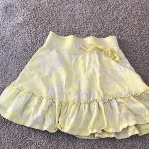 Yellow skirt size 6 old navy